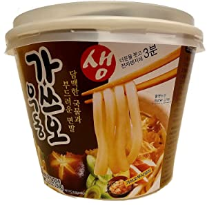 (Pack of 6)Japanese Style Fresh Cup instant Noodle Udon 8.3oz per Meal- Bonito (Katsuo) Flavor