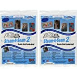 "Steam-A-Seam 2 Double Stick Fusible Web-9""X12"" 5/Pkg"