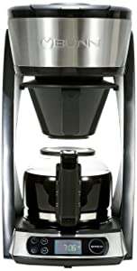 BUNN HB Heat N Brew Programmable Coffee Maker 10 cup Stainless Steel