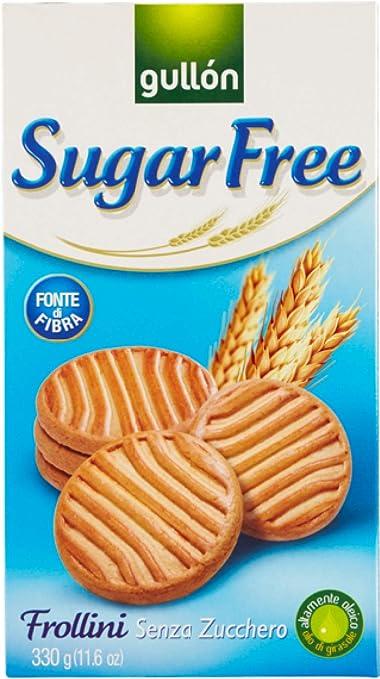 Galletas Gullon sin azúcar galletas de mantequilla 10 x 330g ...