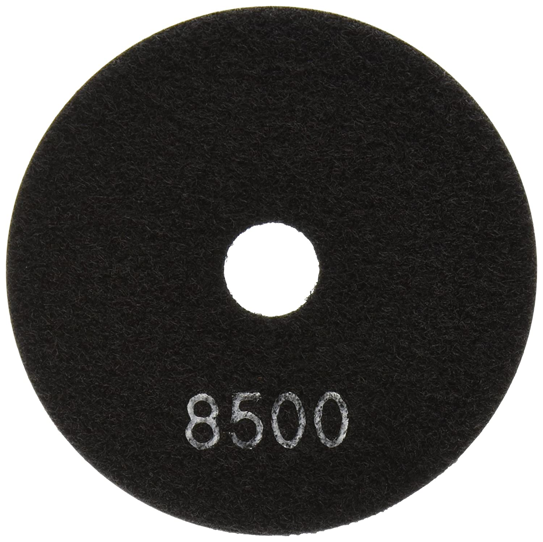 MK Diamond 157239 Premium Resin Wet Polishing Disc, 4', Buff Black 4 Builders World Wholesale Distribution