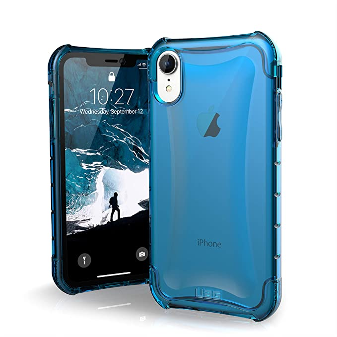 sports shoes 5e7e9 b96b2 URBAN ARMOR GEAR UAG iPhone XR [6.1-inch Screen] Plyo Feather-Light Rugged  [Glacier] Military Drop Tested iPhone Case