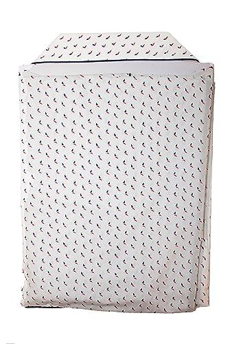 El Búho Nocturno Pijama de Caballero de Manga Larga clásico Estampado/Ropa de Dormir para Hombre - Tela Popelín, 100% algodón - Color Blanco: Amazon.es: ...