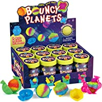 XXTOYS Create Your Own Bouncy Balls Craft Kit for Kids Crystal Power Balls Glow Magic Balls 12 Individual Kits 4 Molds…
