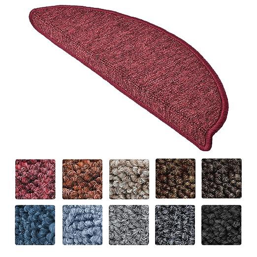 20 opinioni per Beautissu Set da 15 tappetini gradini scale ProStair- 55x15cm- passatoie per