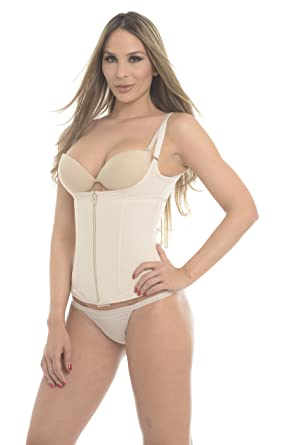 e09ae6c0c25a9 Post-surgical Compression Garment Corset Beige 390 at Amazon Women s ...
