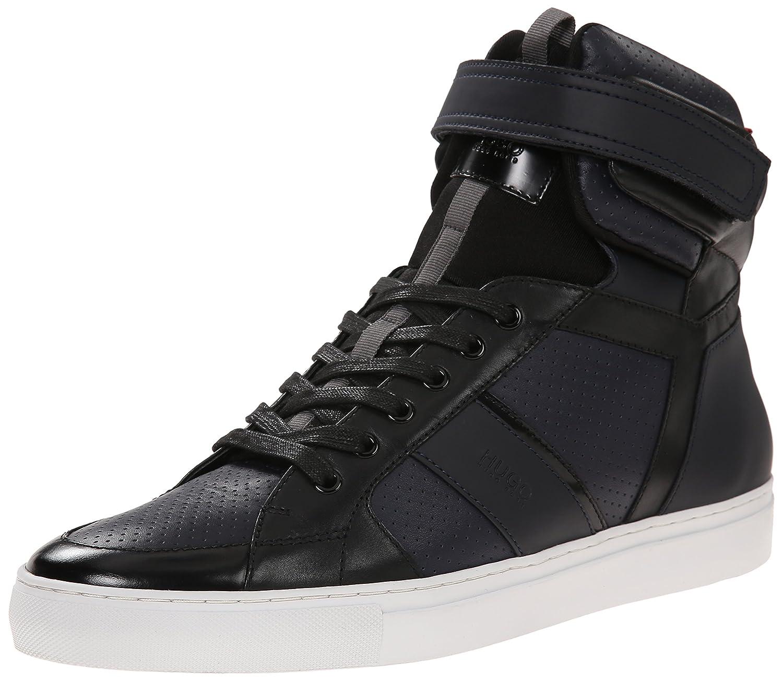 b77125f442edf2 Amazon.com   HUGO by Hugo Boss Men's Fuster High-Top Fashion Sneaker    Fashion Sneakers