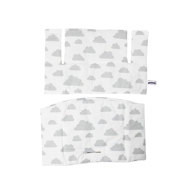 Puckdaddy Sitzkissen Wolken schwarz für Stokke Tripp Trapp