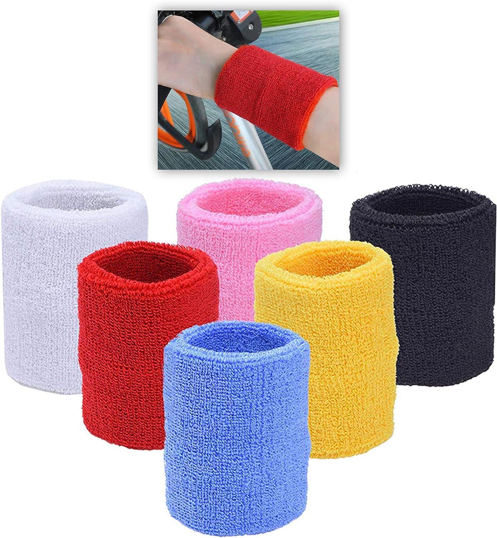 URBEST Sports Cotton Wristband /& Wrist Sweatbands