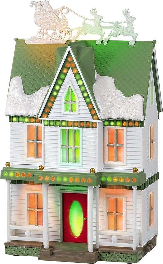 Keepsake Christmas Villages 2020 Amazon.com: Hallmark Keepsake 2020, Sound a Light Christmas