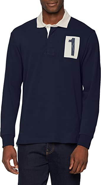 HKT by Hackett HKT 1 Rugby Polo, Azul (Navy 595), L para Hombre ...