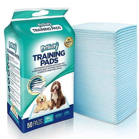 Empapadores de adiestramiento para perro, alfombrillas muy absorbentes para proteger el suelo