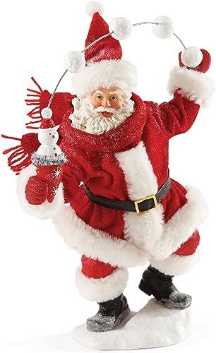 Department 56 Possible Dreams Christmas Snow Cone Santa Figurine