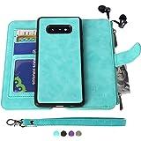 MODOS LOGICOS Samsung Galaxy S10E Case, [Detachable Wallet Folio][2 in 1][Zipper Cash Storage][Up to 14 Card Slots 1…