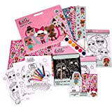 Alligator Products Limited L.O.L. Surprise! Kids Arts & Crafts (36 Pieces) Colouring Set, Artist Pad with Pencils, Stickers, Water Colour Paints