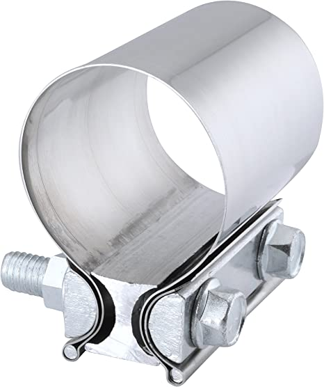 EVIL ENERGY 3.0 Lap Joint Exhaust Band Clamp Exhaust Repair Preformed 304 Stainless Steel