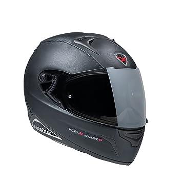Nexx XR1R Diablo - Casco Integral para Motocicleta (Negro, XXXL)