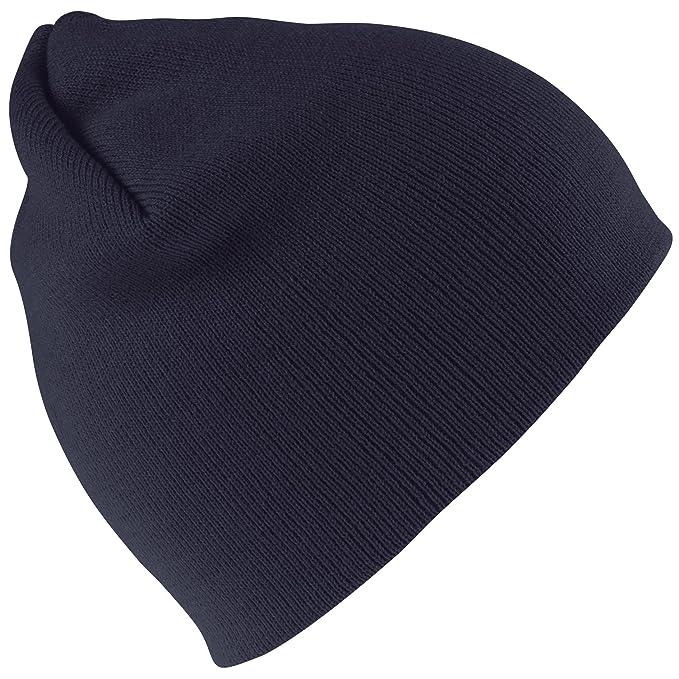 Result - Berretto Invernale - Uomo (Taglia unica) (Blu navy)  Amazon.it   Abbigliamento ebf9f6ca93e1