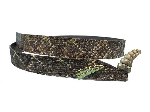 Amazon.com  Real 3 4 Rattlesnake Hat Band with Rattle (598-HB206)  Clothing e86f4c71937
