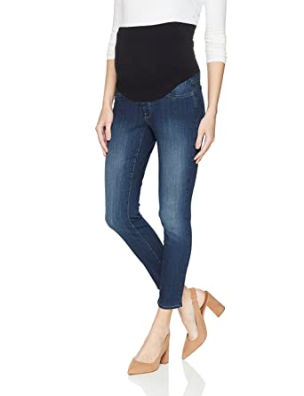 c93651e5bfdd0 NYDJ Women's Skinny Maternity Ankle Jean in Sure Stretch Denim at Amazon  Women's Clothing store: