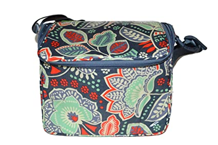 eed208babd2 Image Unavailable. Image not available for. Color  Vera Bradley Stay Cooler  (Nomadic Floral)