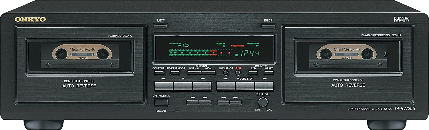 Onkyo TARW255 Dual well Tape Deck Discontinued by Manufacturer