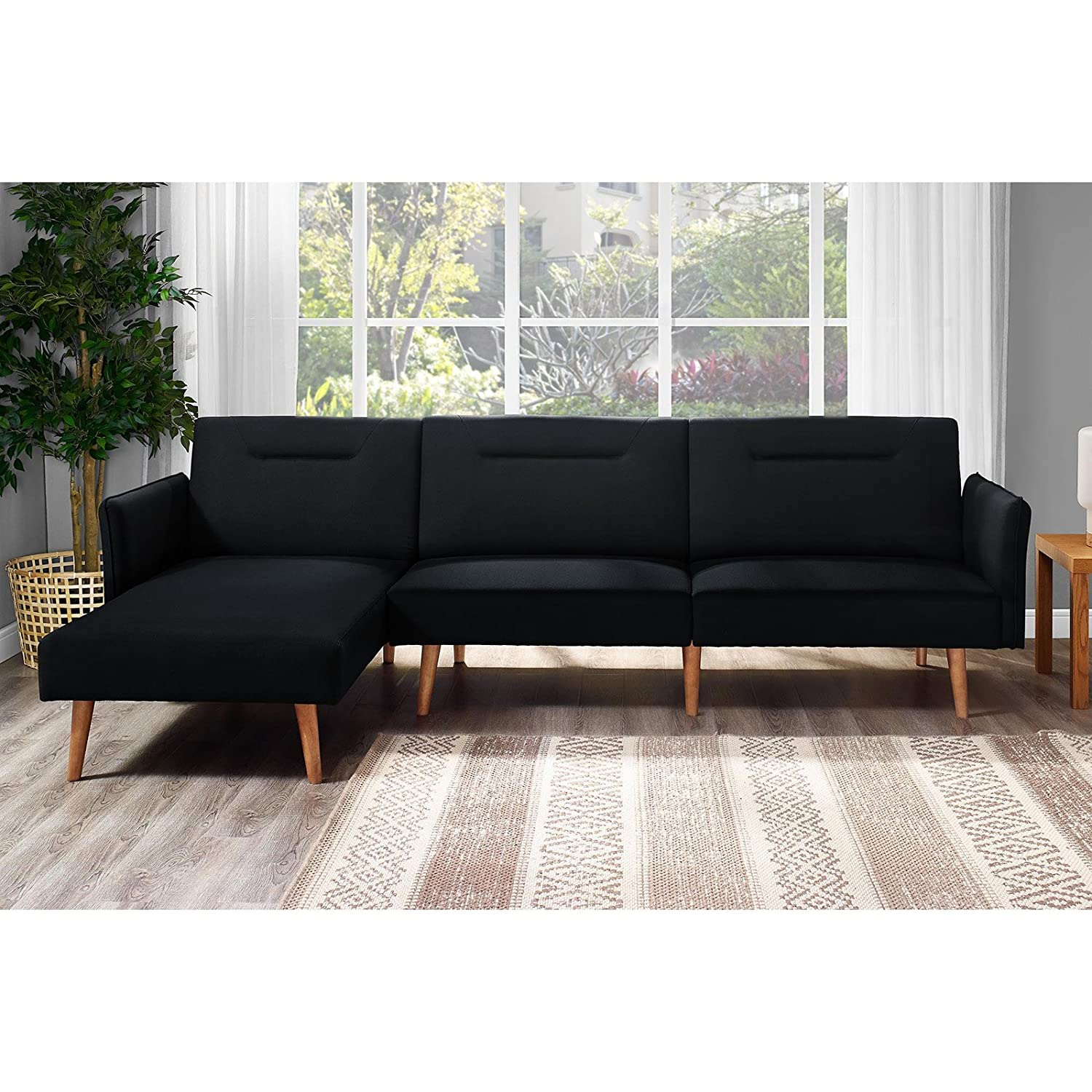 sofa today futons free shipping futon garden dhp overstock zoe bed convertible product home