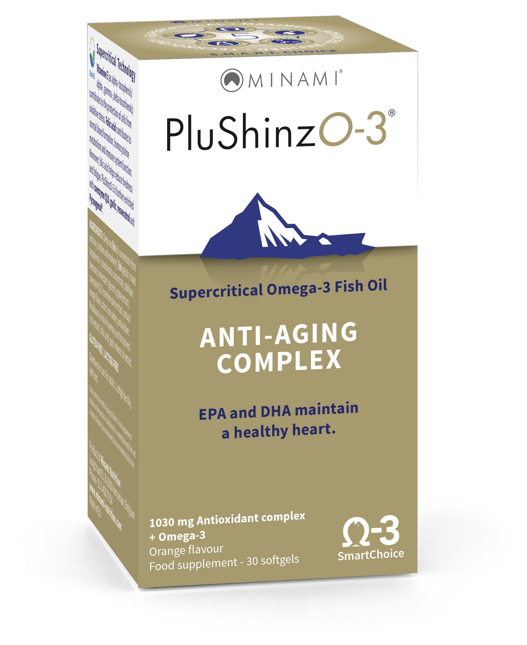 Minami Nutrition PluShinzO-3 Anti Aging Complex by Minami Nutrition