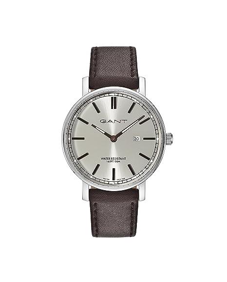 f74985dd09d5 GANT Hombre analógico de Cuarzo Reloj con Pulsera de Piel gt006005   Amazon.es  Relojes