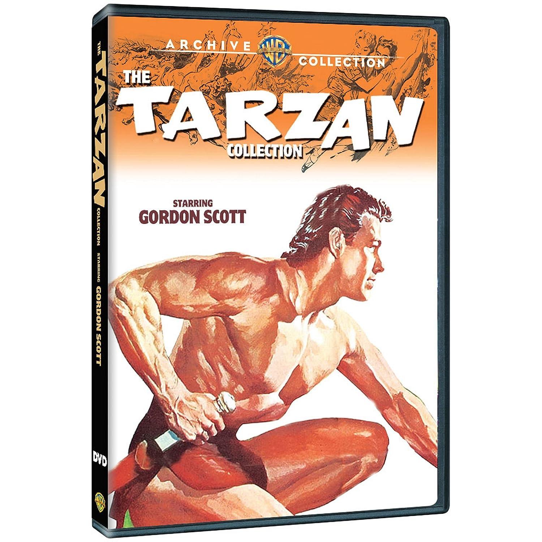 Tarzan Collection: Starring Gordon Scott 6 Dvd Edizione ...
