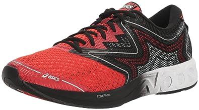 ae141b6f96 ASICS Men's Noosa FF Running Shoe, Vermilion/White/Black, ...