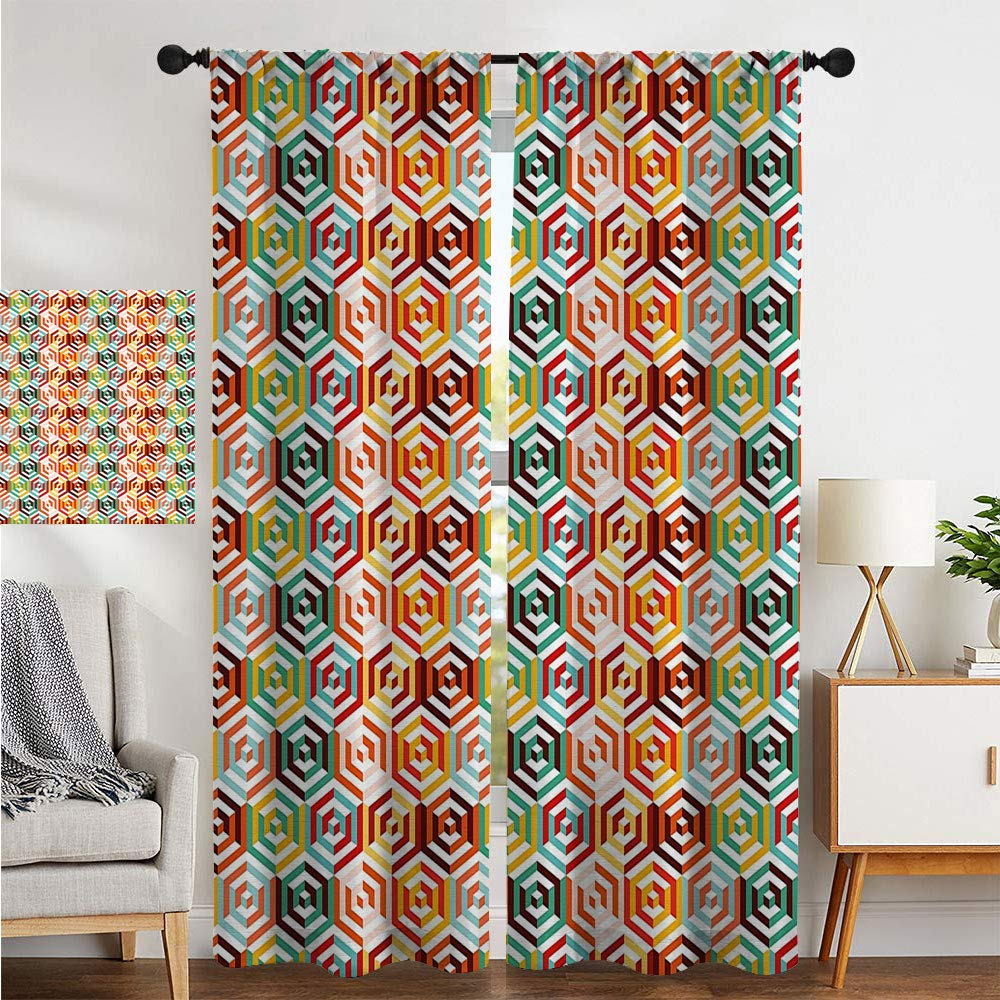 Amazon.com: Cortinas opacas térmicas de SATVSHOP, cortinas ...