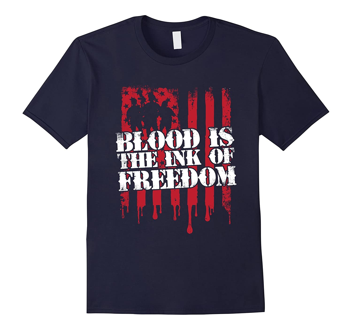 Blood Is The Ink of Freedom T Shirt-FL