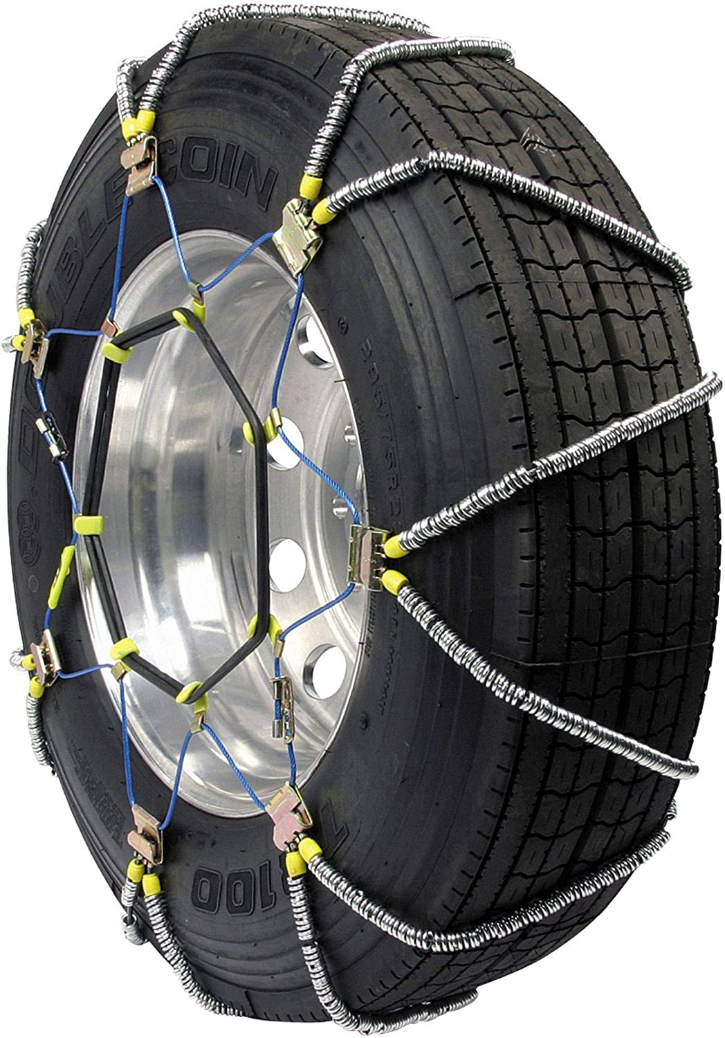 Set of 2 Security Chain Company ZT835 Super Z Heavy Duty Truck Single Tire Traction Chain