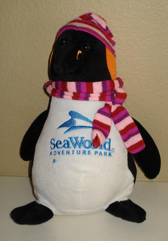 Amazon Com Sea World Adventure Park Penguin Plush 12 Inches Toys