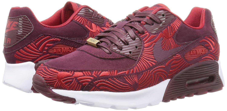 26410827af Nike Women W Air Max 90 Ultra Lotc Qs Shanghai (Maroon/Night Maroon/Gym Red/Night  Maroon) 6 US: Amazon.in: Shoes & Handbags
