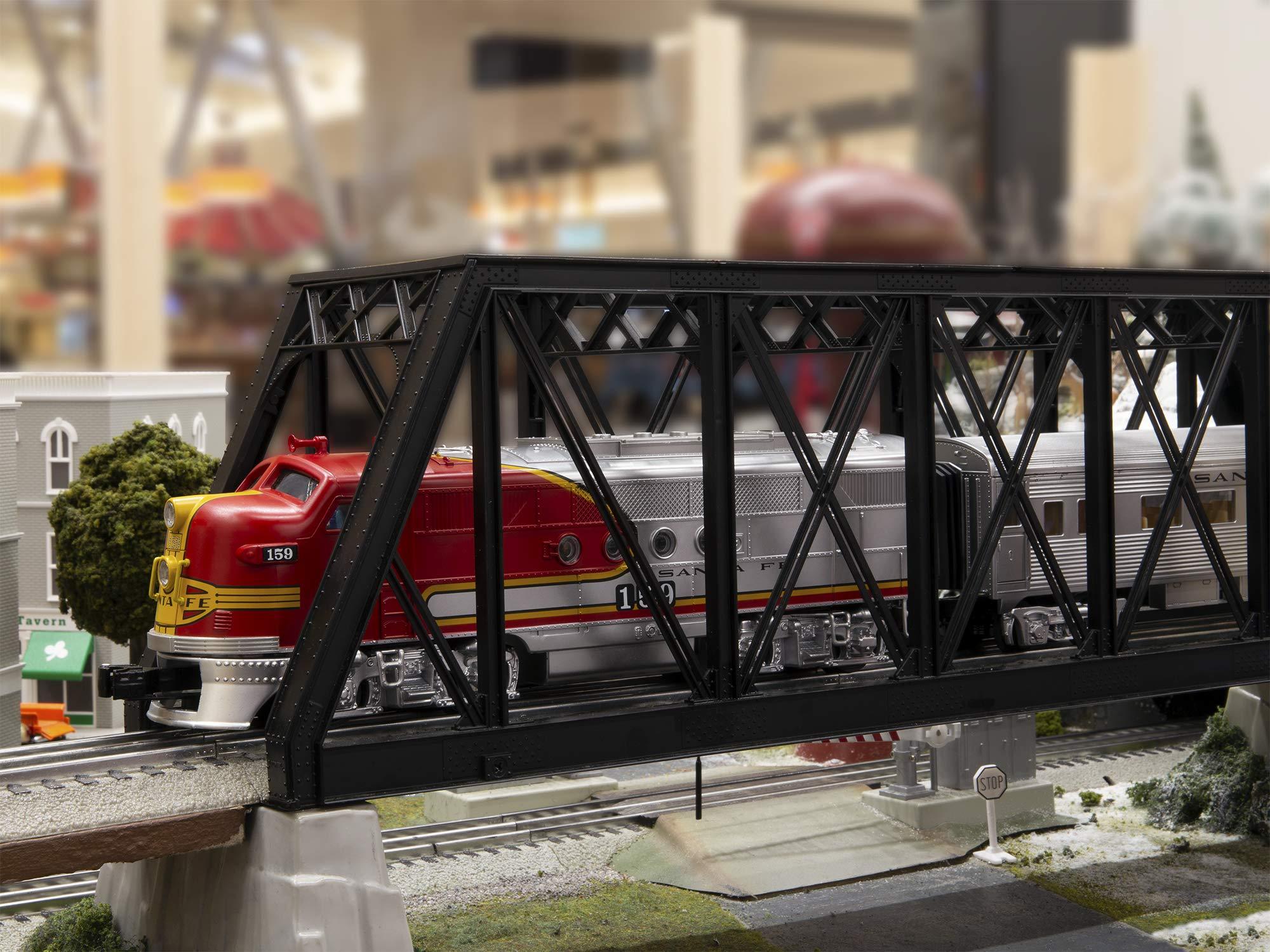 Lionel Santa Fe Super Chief Electric O Gauge Model Train Set w/ Remote and Bluetooth Capability by Lionel (Image #10)