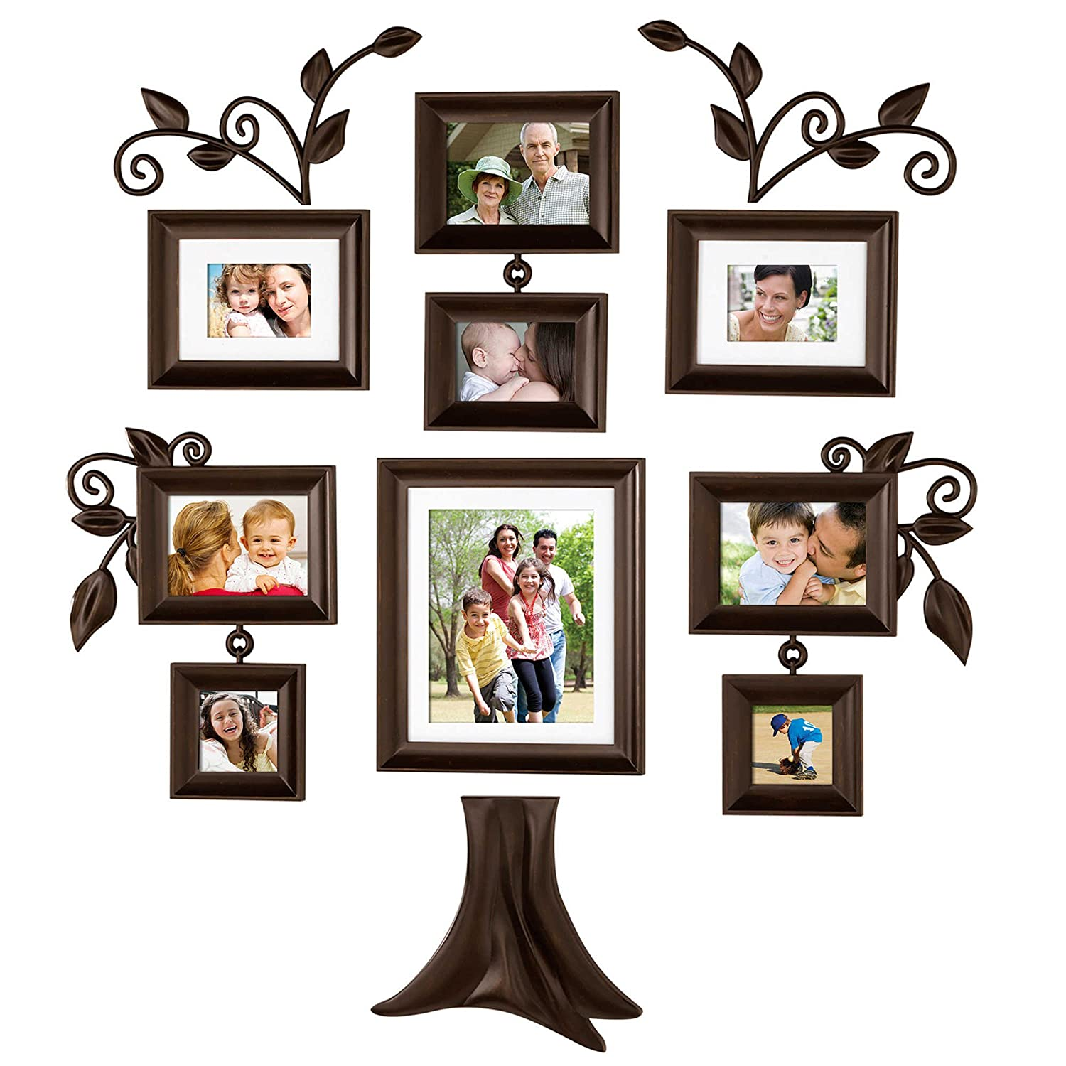 Amazon family tree 9 piece family tree collection picture amazon family tree 9 piece family tree collection picture frames jeuxipadfo Choice Image