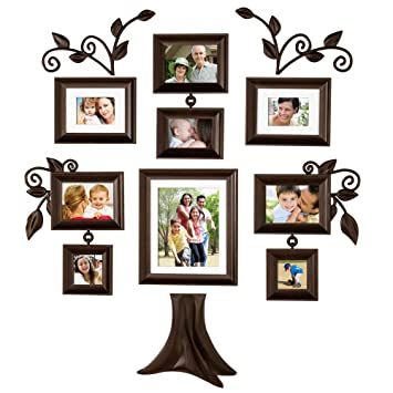 family tree 9 piece family tree collection picture frames