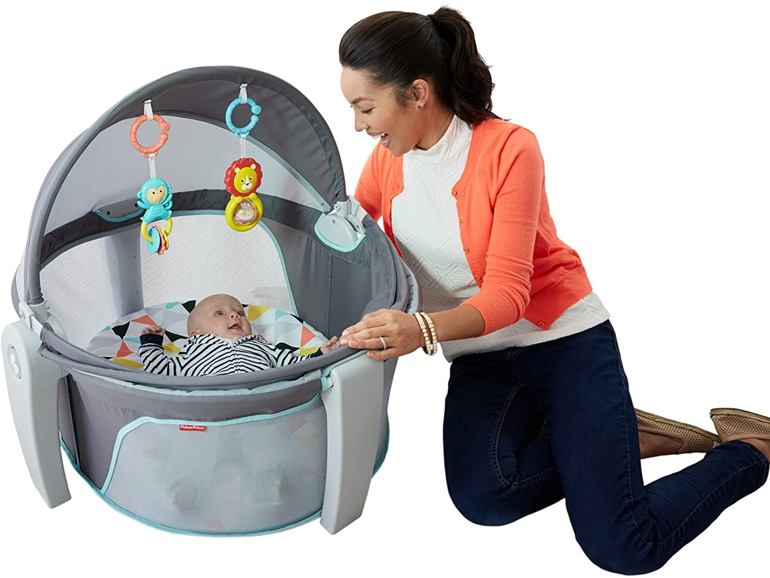sc 1 st  Amazon.com & Amazon.com : Fisher-Price On-The-Go Baby Dome White : Baby