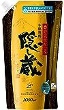濱田酒造 隠し蔵 麦 パウチ 25度 [ 焼酎 鹿児島県 1000ml ]