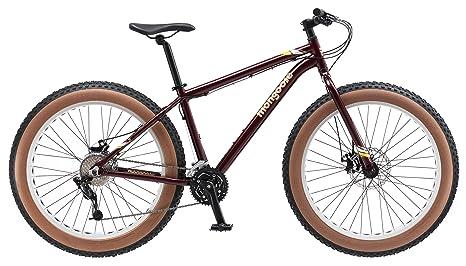 Amazon.com : Mongoose Vinson Fat Tire Bike, Burgundy, 26
