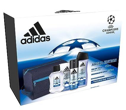 507100ed4149 Adidas - Confezione Regalo UEFA Champions League - Arena Edition: Profumo  Uomo 100 ml,
