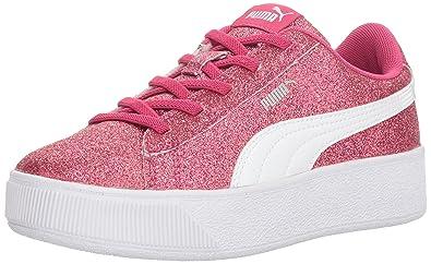 9a2624cab70b PUMA unisex-kids Vikky Platform Glitz AC PS Sneaker