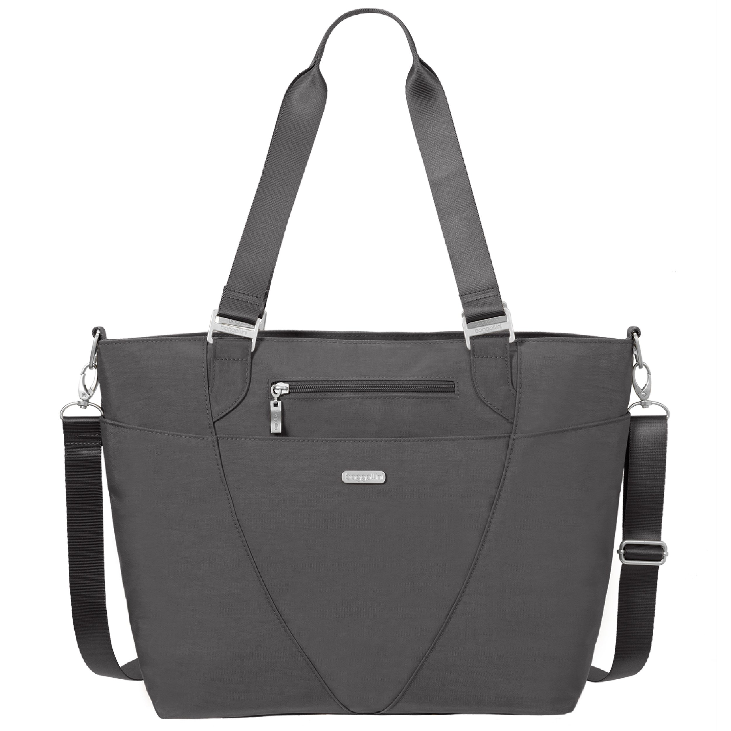 Baggallini Avenue Travel Tote, Charcoal, One Size by Baggallini (Image #6)