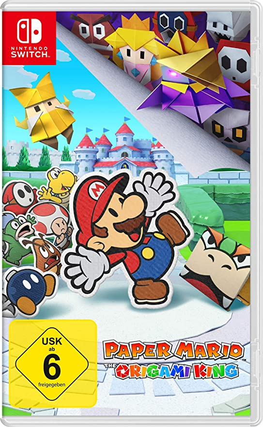 Nintendo Switch Paper Mario: The Origami King: Amazon.es: Electrónica
