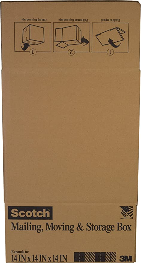 Folded Box 6-Pack Scotch Folded Box 16-Inches x 16-Inches x 12-Inches