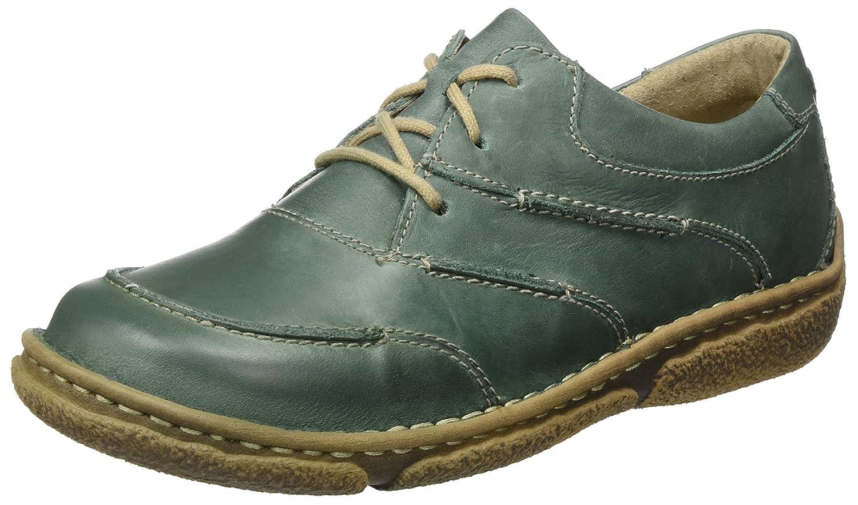 Josef Seibel SMU-Neele 03 - Zapatos Derby Mujer 37 EU|Grün (Moos)
