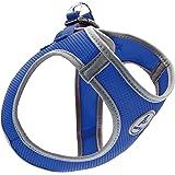 Kruz PET KZA306-02XL Reflective Mesh Dog Harness, No Pull, Quick Fit, Comfortable, Adjustable Pet Vest Harnesses for Walking,