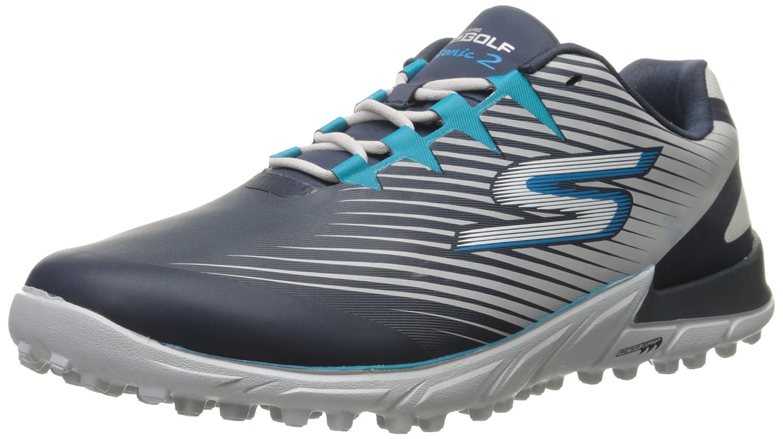 Skechers Performance Men's Go Golf Bionic 2 Golf Shoe B0135OG4A2 8.5 D(M) US Navy/Gray